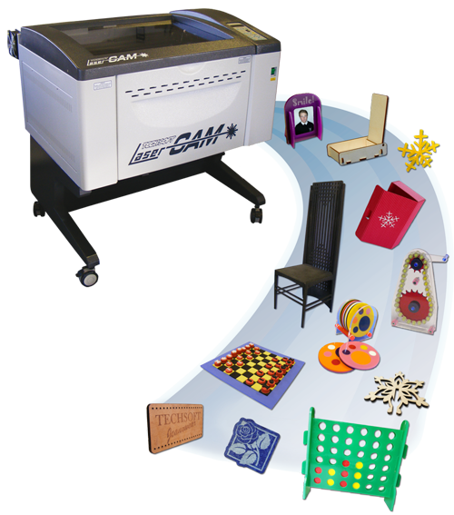 TechSoft LaserCAM Star Series - Laser Cutting and Engraving