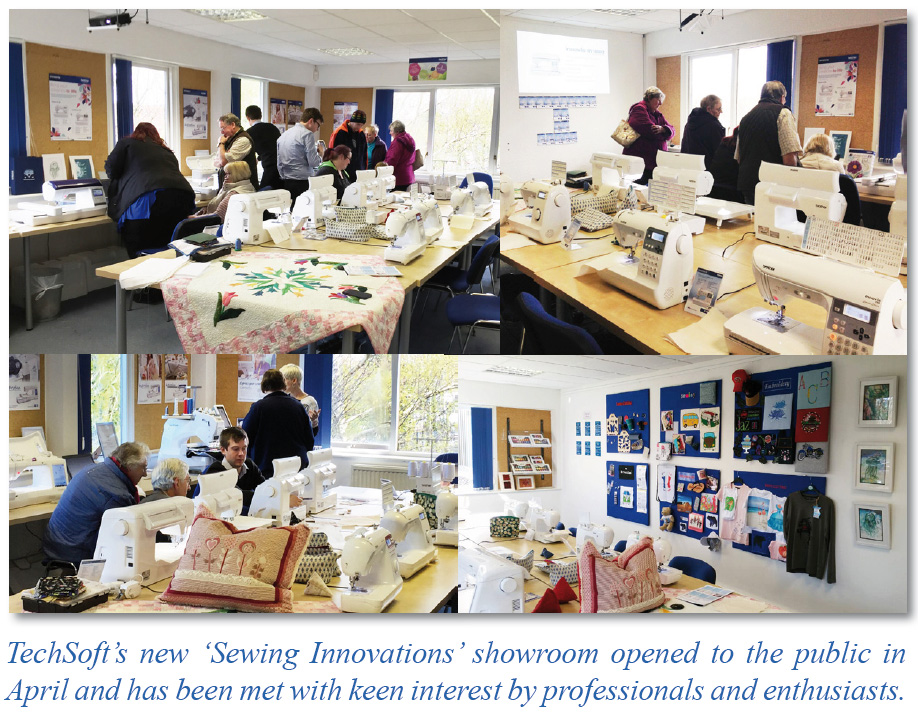 TechSoft Textiles - New Sewing Embroidery Centre - TechSoft News