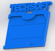 TechSoft ID Badge
