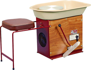 Cowley Double Drive Potters Wheel