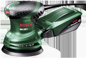 Bosch PEX 220 A Random orbit sander, 240V