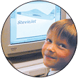 Child using software