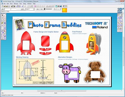 2D Design Screenshot
