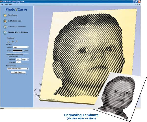 PhotoVCarve Screenshot
