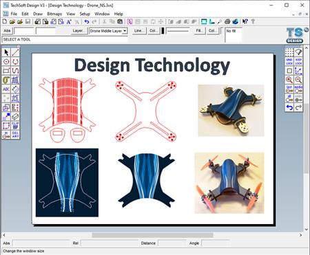 TechSoft Design V3 Screenshot