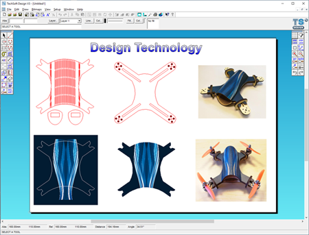 TechSoft Design V3 Screenshot