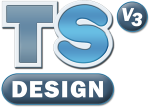 TechSoft Design V3 Logo (Formerly 2D Design V2)