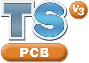 TechSoft PCB V3 Logo (Formerly 2D PCB V2)