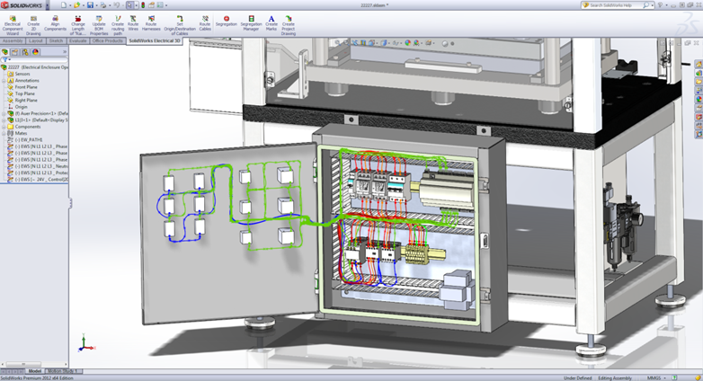 Wiring Diagram With Solidworks : Solidworks electrical academic research licenses