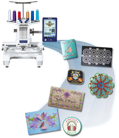 Brother Multi-Needle Embroidery Machines