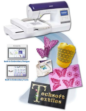 Single Needle Embroidery Machines