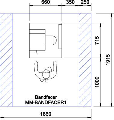 Bandfacer CAD Drawing