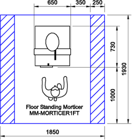 MM-MORTICER1F CAD Drawing